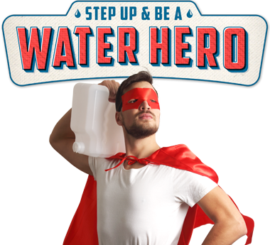 Wellinton water hero promotion